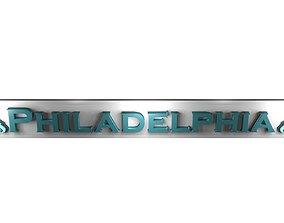 3D model Philadelphia Eagles