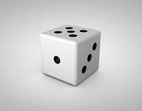 2 Dice models 3D asset low-poly