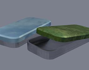 Box card 3D print model