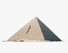 3D model Pyramid of Menkaure