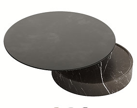 3D asset DE LA ESPADA LAUREL COFFEE TABLE IN MARBLE