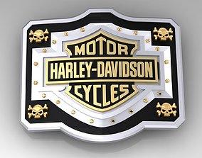 Buckle Harley Davidson cycles 3D printable model