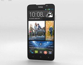 3D model HTC Desire 516 White