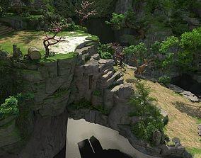 3D model Huaguo mountain