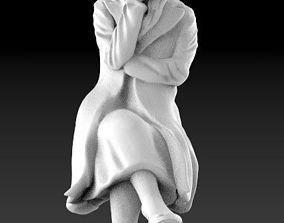 woman female 3d model