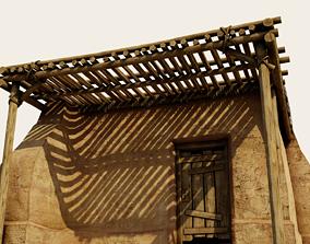 3D model Crude Hut