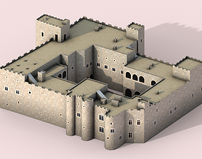 Palace of the Grand Master of the Knights of 3D model