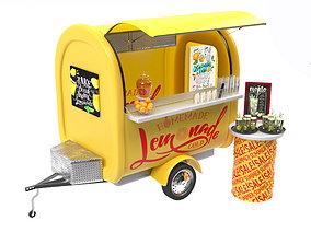 Food Truck Lemonade 3D model