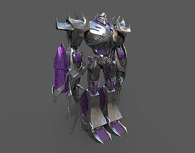 3D model TRANSFORMERS MEGATRON