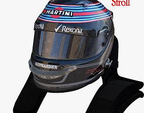 3D model Stroll helmet 2017