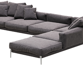 Flexform Romeo sofa 3D model