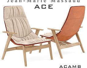 3D model Ace armchair
