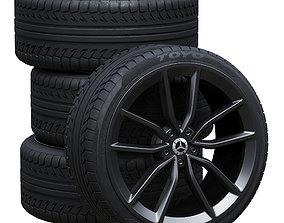 3D model Mercedes wheels