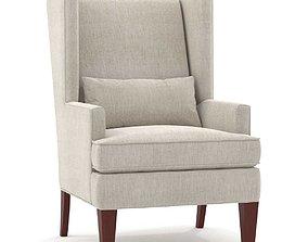 legs Hooker furniture alexander chair 3D model