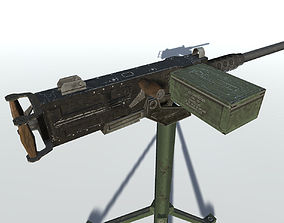 Browning M2 50 3D model