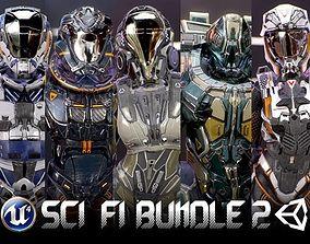 Armors Bundle 2 3D asset