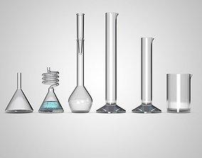 chemical tubes 3D