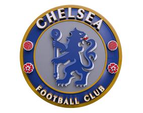 Chelsea logo 3D model