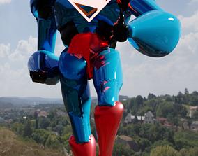 3D model Superman Robot Style credit to jdtmart