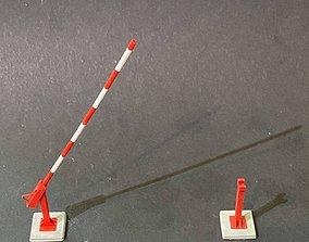LIFTING ARM BARRIER 7MM SCALE O GAUGE MODEL RAILWAY