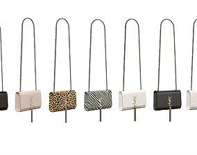 YSL Saint Laurent Kate Small Bags 3D model