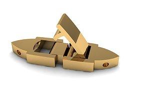 3D print model Keys Bracelet