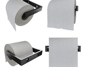 Toilet Paper 3D model makro