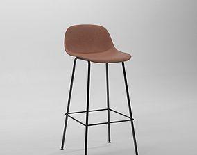 3D model Fiber bar stool by iskos berlin