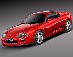 Toyota Supra 1993-2002 3D