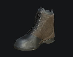 Boots game-ready PBR Low-Poly 3D asset clothing
