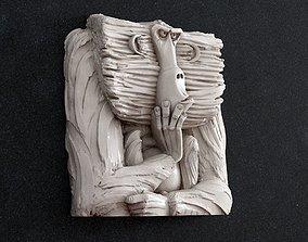 art Monkey 3D printable model