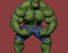 Hulk Angry 3D print model