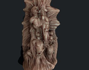 HOrror Mutated people Animated 3D model