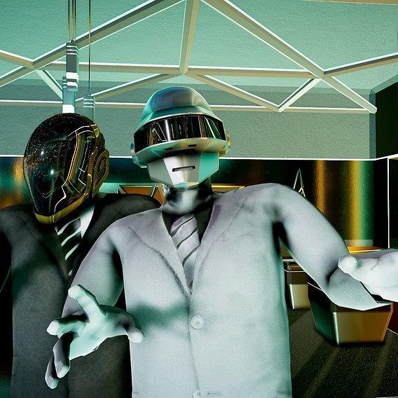 Daftpunk Electronic Duo