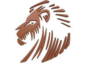 3D model Lion Emblem v3 002