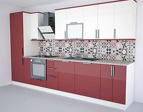 3D printable model New Modern kitchen