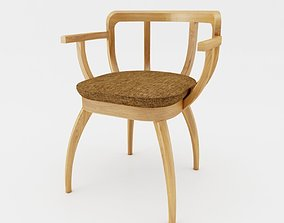 3D asset Lotus Table and Chair