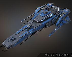 Templar Frigate 3D model