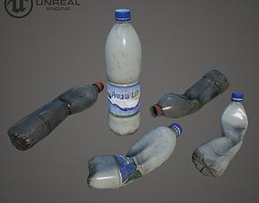 3D asset Plastic bottle