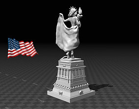 3D print model Statue of Liberty america