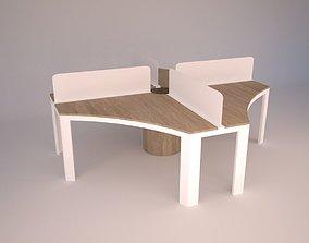 Modern Office Furniture N16 3D model