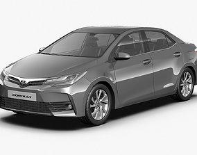 2017 Toyota Corolla EU 3D model
