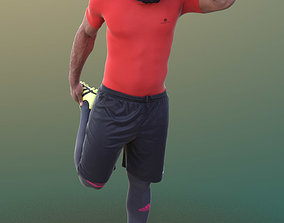 Gabriel 10374 - Stretching Soccer Man 3D model