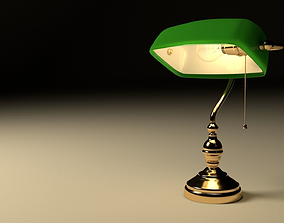 3D model Bank lamp
