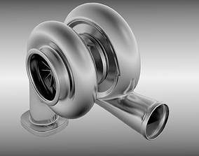 Turbocharger 3D
