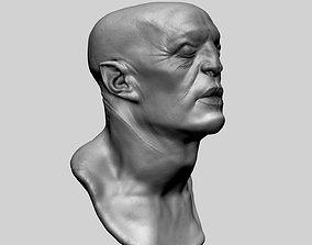 Fantasy Creature Head 06 3D model