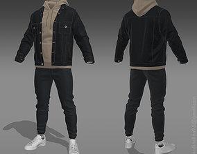 Jacket-Hoodie 3D