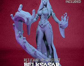 3D printable model Blood Mage Vampiress Nude