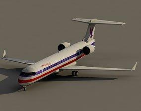 CRJ-700 American Eagle 3D model