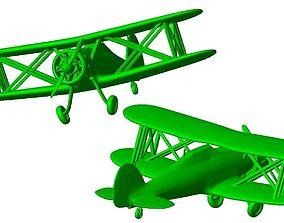 3D printable model Aircraft biplane B